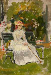 Ethel Walker - The Garden Bench