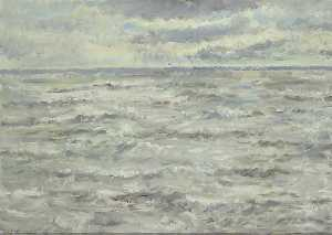Ethel Walker - Seascape The coming Storm