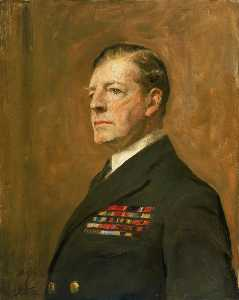 Arthur Stockdale Cope - Admiral David Beatty (1871–1936), 1st Earl Beatty