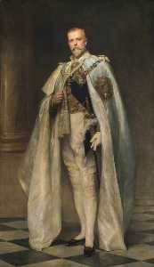 Arthur Stockdale Cope - Right Honourable Arthur Oliver Villiers Russell (1869–1935), 2nd Baron Ampthill, GCSI, GCIE