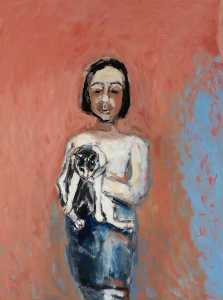 Julie Held - Girl with a Cat