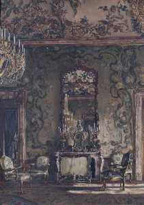William Bruce Ellis Ranken - The Gasperini Room, Royal Palace, Madrid, Spain