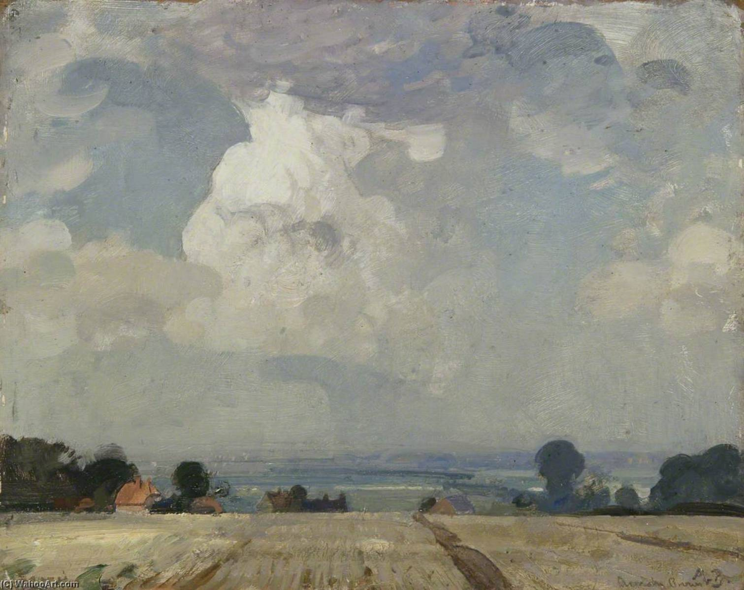 The Cloud (September), Oil On Panel by John Alfred Arnesby Brown