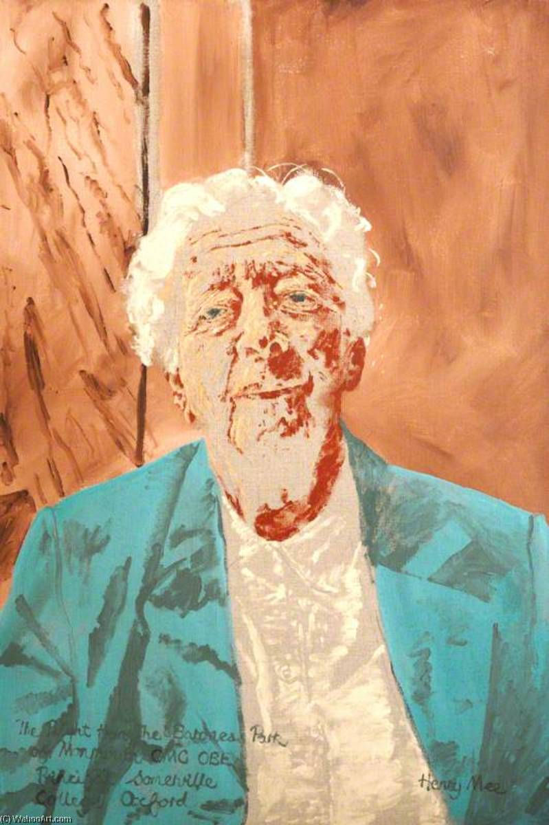 Daphne Park, Principal (1980–1989), Oil On Canvas by Henry Mee