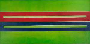 Estelle Thompson - Green Blocks 1996