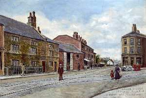 Harold Hopps - Liscard Village, Junction with Manor Road, Wirral