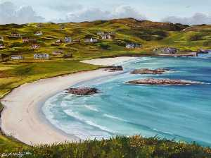 Ivor M Mackay - Cnip and Reef Beach, Uig