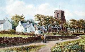 Harold Hopps - Woodchurch, Wirral, from the North East
