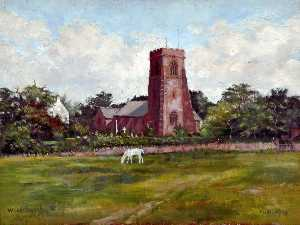 Harold Hopps - Woodchurch Parish Church, Wirral, 1919