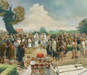 Peter Froste - Romano British Burial Ceremony at Turnershall Farm