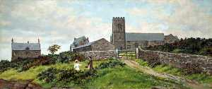 Harold Hopps - Wallasey Church, Hall and Rectory, Wirral