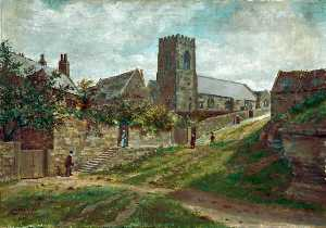 Harold Hopps - Wallasey, Wirral, Church Hill, 1856