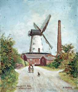 Harold Hopps - Willaston Mill, Wirral, 1903