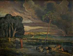 Roger Eliot Fry - Landscape with St George and the Dragon