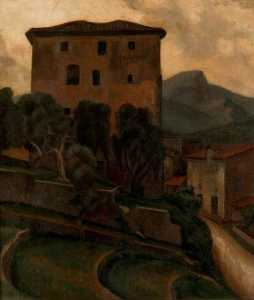 Roger Eliot Fry - Large House with Terrace
