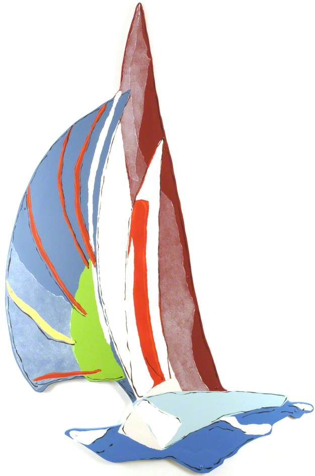 Seascapes Sailing Boat, 2006 by Rachael Alexander | Painting Copy | WahooArt.com