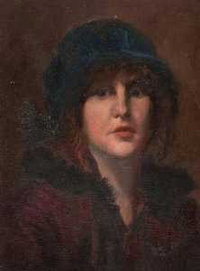 Robert Lillie - Portrait of a Woman