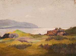 Robert Lillie - Cumbrae from Mount Stuart, Rothesay