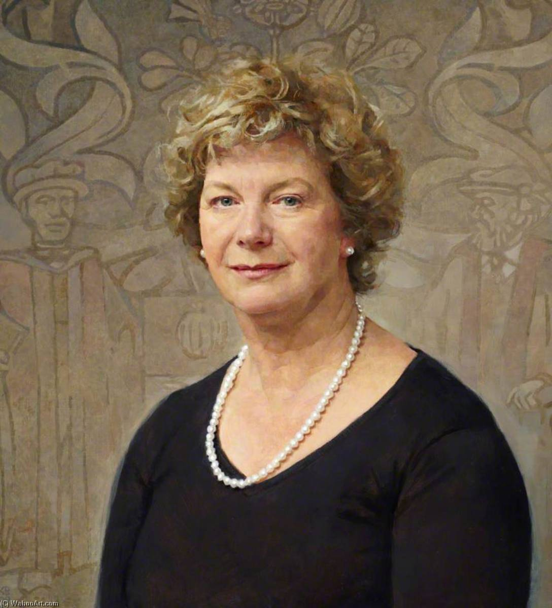 Judith Hulf, President of the Royal College of Anaesthetists (2006–2009), 2009 by Keith Breeden | WahooArt.com