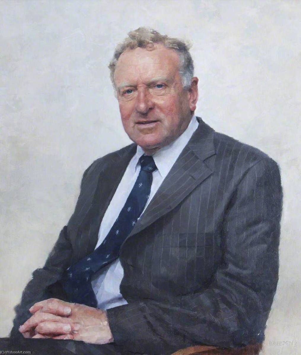 David R. Holmes, MA, Hon. DCL, Registrar of the University of Oxford (1998–2006) by Keith Breeden | Art Reproductions Keith Breeden | WahooArt.com