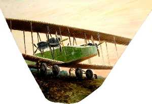 John Constable Reeve - Handley Page V1500, Bircham Newton, Norfolk, 1918