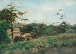 Robert Lillie - Beside the Allander, Milngavie