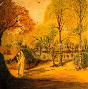Charles William Brown - Walking in the Park