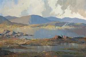 George K Gillespie - 'Reflections', Lough Inagh