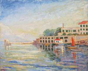 Winston Spencer Churchill - Late Afternoon, Saint Jean Cap Ferrat