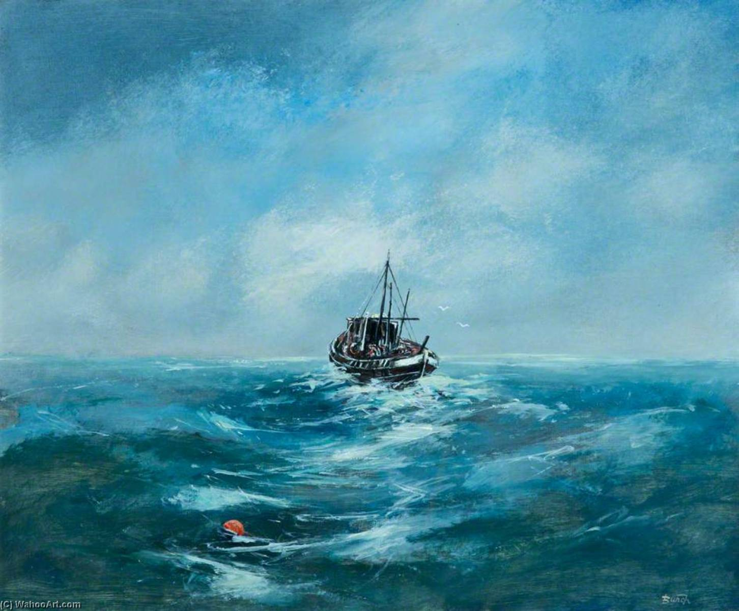 Trawler by Lawson Burch | Art Reproduction | WahooArt.com