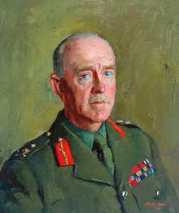 Henry Marvell Carr - General Sir Harold Franklyn, KCB, DSO, MC, Colonel of the Regiment (1939–1949)