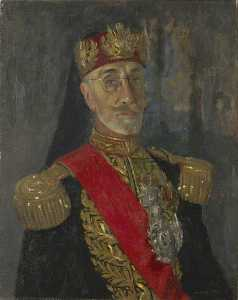 Henry Marvell Carr - His Highness the Bey of Tunis