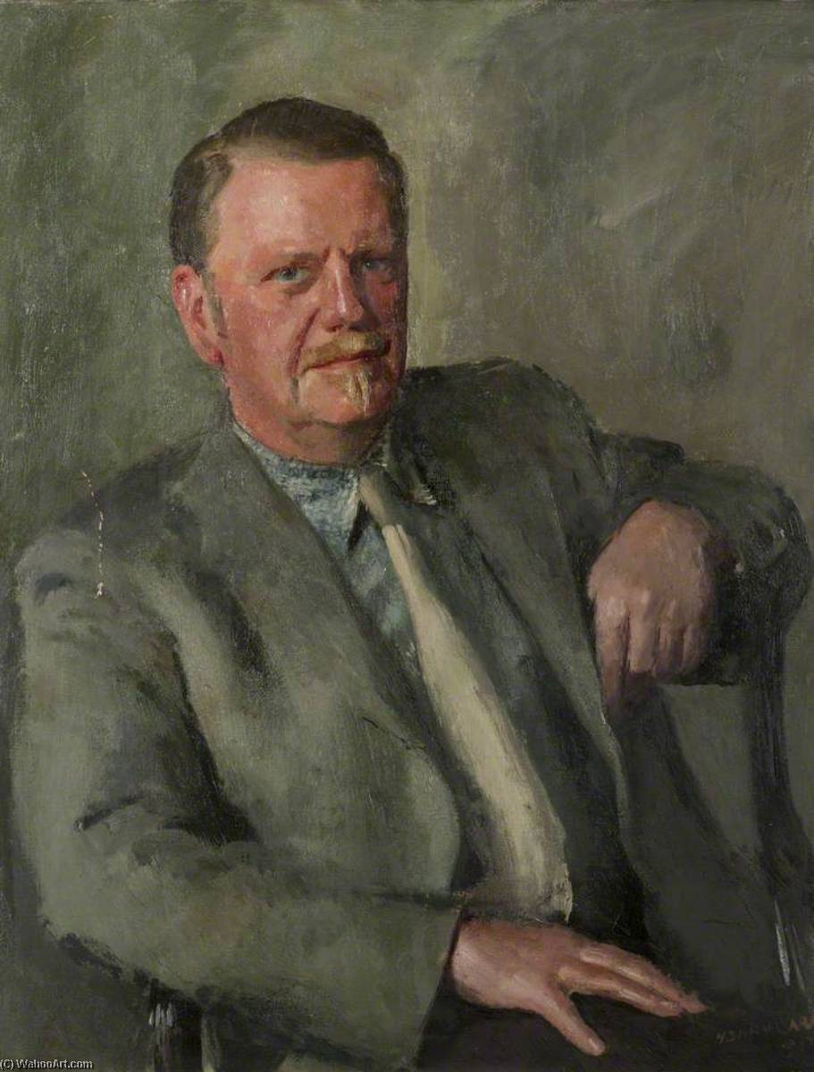 Pat Millard, Oil On Canvas by Henry Marvell Carr