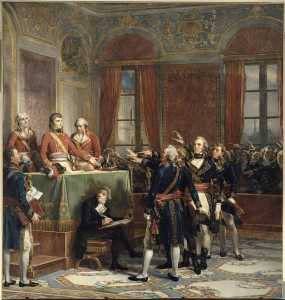 Couder Auguste - Installation of the Conseil d-Etat at the Petit Luxembourg, 25 December 1799