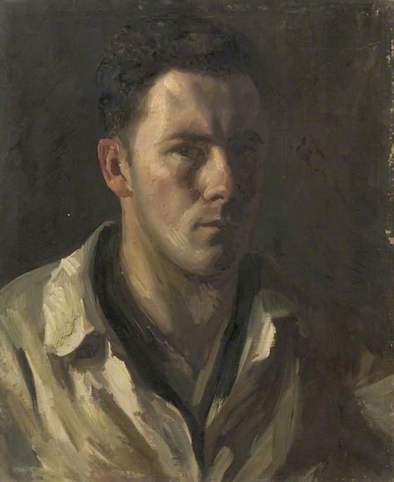 Self Portrait, 1930 by Theodor Kern | WahooArt.com