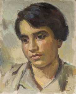 Theodor Kern - Portrait of a Young Man