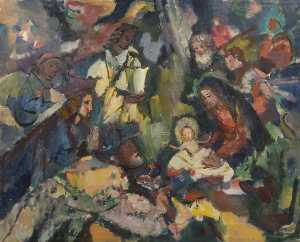Theodor Kern - Nativity