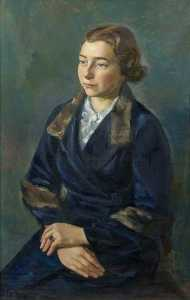 Theodor Kern - Female Portrait
