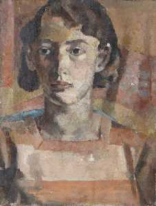 Alan Francis Clutton Brock - Bust Study of an Unknown Young Woman