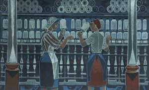 Cliff Rowe - Textile Workers