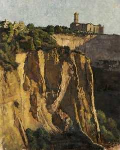 Geoffrey Scowcroft Fletcher - Le balze (The Cliffs), Volterra