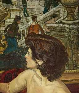 Carel Victor Morlais Weight - Woman's Head
