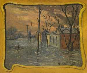 Louis Michel Eilshemius - The Flood