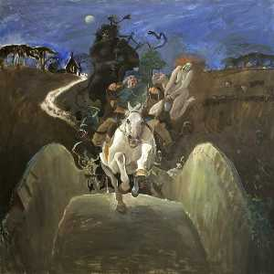 Alexander Goudie - 'She Flew at Tam wi Furious Ettle'
