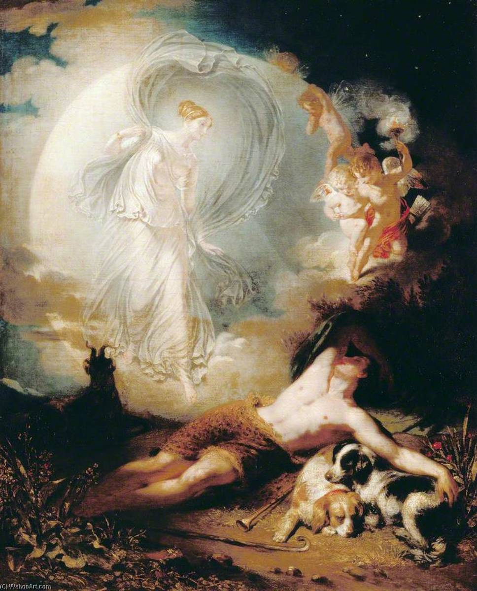 Endymion, 1832 by John Wood | Art Reproductions John Wood | WahooArt.com