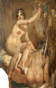 John Wood - Two Female Nudes