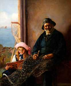 Edward Joseph Head - A Tenby Fisherman