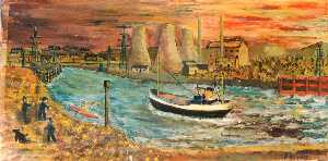James Bentley - Coppack-s -Indorita- Inward Bound to Connah-s Quay Docks, c.1960