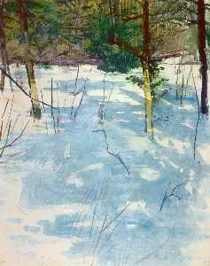 Abbott Handerson Thayer - Winter, Monadnock