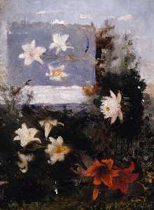 Abbott Handerson Thayer - Flower Studies